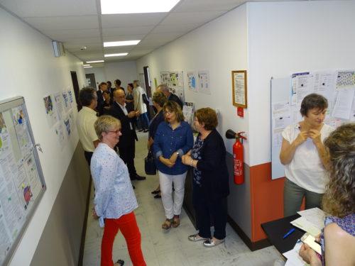 Inauguration G58 Antenne de Cosne - Site PG de Gennes - Visite de l'espace formation