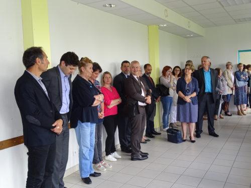 Inauguration G58 Antenne de Cosne - Site PG de Gennes - Discours