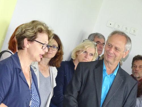 Inauguration G58 Antenne de Cosne - Site PG de Gennes - Discours de Mme la sénatrice de la Nièvre