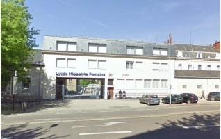 Façade du lycée Hippolyte Fontaine accueillant un site de formation du GRETA 21