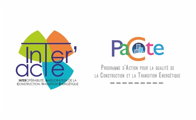 Porté par le GIP-FTLV de Bourgogne et Bourgogne Bâtiment Durable, INTER'ACTE est soutenu par le programme « PACTE »