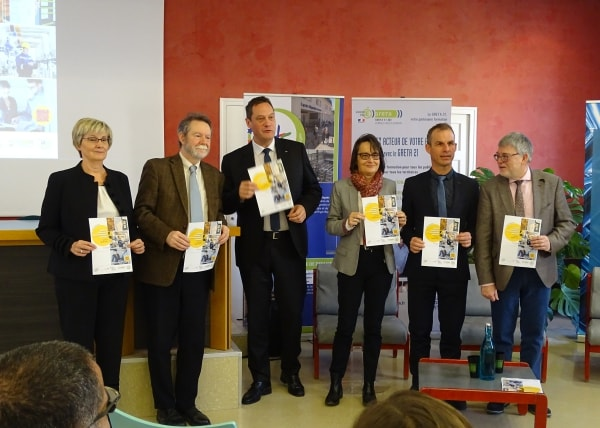 "Les parties prenantes de la nouvelle licence ""Energie et développement durable"", option Smart city"